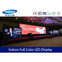 Buy cheap Super Slim P7.62 Indoor Rental LED Display Advertising For Television Relay , 300Hz - 1000Hz product