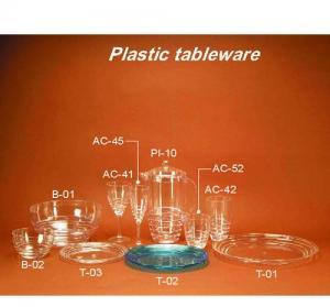 vaisselle en plastique