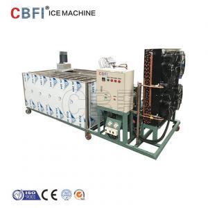 Buy cheap Máquina de hielo automática del bloque de hielo del acero inoxidable usada en industria pesquera/la prerefrigeración product