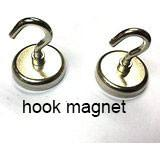 Buy cheap Super stong suction Magnetic Hook with Rotating and Swing Hook, 1.47