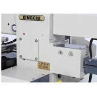 Buy cheap Leather Industrial Flatlock Sewing Machine , Thick Fabric Programmable Sewing Machine  product