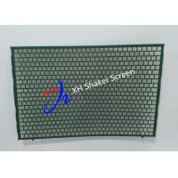Buy cheap FLC 2000 Flat Type Shale Shaker Screen With Notch for Mud Cleaner product