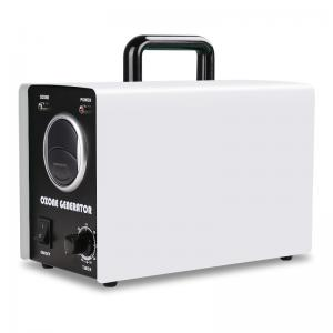 Buy cheap clean Air Ozone Generator Corona Discharge Ozone Machine For Odor Removal white product