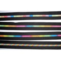 Buy cheap Rainbow Paint color teeth open-end zipper metal r Attractive special 7# from wholesalers