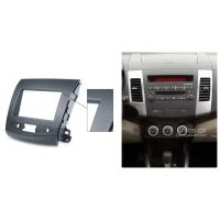 Buy cheap 2 Din Car Radio Fascia For Citroen C-Crosser Mitsubishi Outlander Trim Kit product