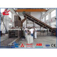 Buy cheap Horizontal Waste Paper Compactor Machine Automatic Belting Feeding Conveyor Y82W-125A product