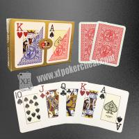 Buy cheap Modiano Plastic Playing Cards / Golden Trophy Casino Cards For Texas Poker product
