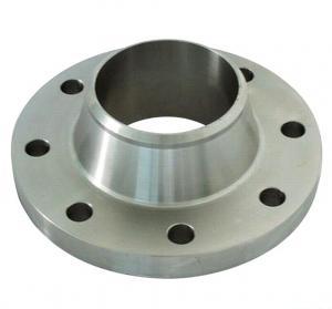 Buy cheap 造られたステンレス鋼の溶接首のフランジ product