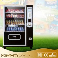 China Bulk candy / gumball / cool drinks Healthy Snack Vending Machines LED screen wholesale