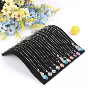 Buy cheap ビロードのネックレスの鎖の新しい吊り下げ式の表示宝石類のオルガナイザーの立場のホールダー product