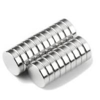 Buy cheap N40 Permanent Neodymium Disc Magnet with Nickle Coated Manufactured in China product