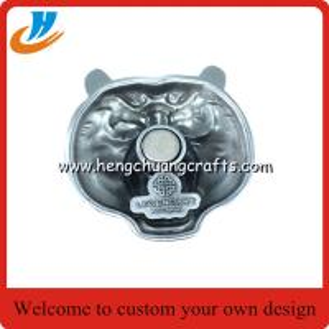 China Custom paper souvenir fridge magnet magnets for fridge/antique nickel plated fridge magnets on sale