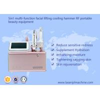 Buy cheap 5 In 1 RF Portable Beauty Equipment Facial Lifting / Skin Tightening Pink Color product