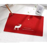 Buy cheap New High Quality Machine Made Door Mat Custom Eco-Friendly Floor Mat With PVC from wholesalers