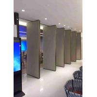Quality Acoustic collapsible partition walls For Space Division,Hotel,Restaurant for sale