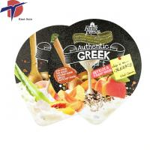 Quality yogurt cup aluminium foil lid, aluminum foil lids for yogurt/ diary products for sale
