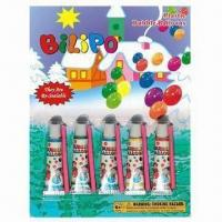 Buy cheap Plastic Bubble Balloons with Blowpipe, Suitable for Children to Play Outdoor from wholesalers