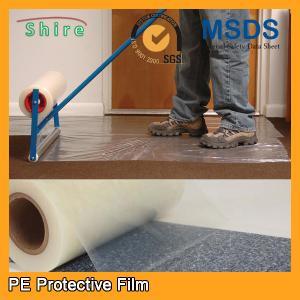Buy cheap Película resistente del protector de la alfombra del coche, película plástica trasera pegajosa del protector de la alfombra product