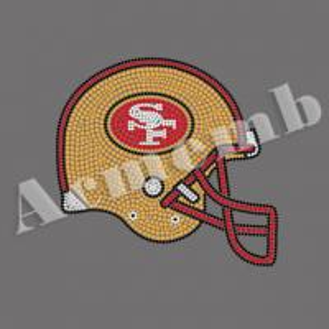 Buy cheap Pedras de cristal por atacado da transferência térmica do cristal de rocha de SF 49ers para a decoração da roupa product