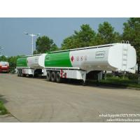 China 45000l carbon steel fuel tank 45000L oil tank truck trailer for africa  WhatsApp:8615271357675 on sale