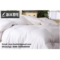 White Goose Feather and Down Duvet for King Size Bed