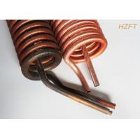 Buy cheap 4.5mm Fin Height Condenser Coils in Water Pumps Resistance vibration product