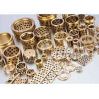 Buy cheap Solid Lubricant Wear Resistant Cast Bronze Sleeve Bushings from wholesalers