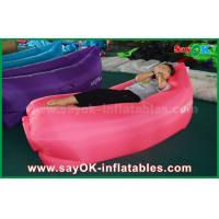China Light Weight Waterproof Inflatable Sleeping Air Bag With Pockets on sale