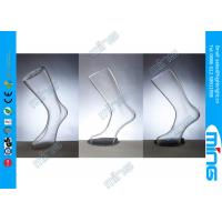 Buy cheap Plastic Transparent Female Foot Display , Female Body Mannequin Foot product