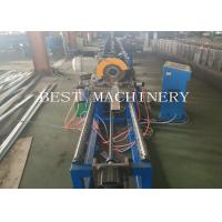 China Professional High Speed Oval Tube Roll Forming Machine 380v 4.5kw Power on sale