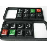 Buy cheap Long Life Tactile Epoxy Silicone Rubber Keypad / Conductive Rubber Keypads product