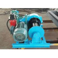 Light duty electric hoist winch jk 220v electric pulling for Electric boat lift motor