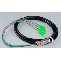 Quality Sc / Apc 4 Core Pigtail Fiber Optic Cable Waterproof With 1310nm-1550nm Wavelength for sale