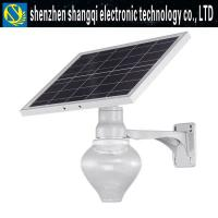 China Die Casting 9W 12W 18W Solar Powered LED Street Lights For Yard 3000k - 6500k wholesale