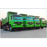Buy cheap Unloading Sinotruk HOWO 6x4 Tipper Truck Heavy Duty Dump Truck 336HP product