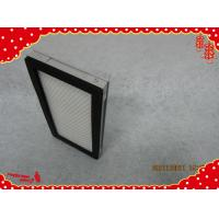Buy cheap 305x305x35mm aluminum frame minipleat general ventilation air filters product