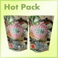 Buy cheap Kraft Paper Laminated Aluminum Foil Lined Packaging Bags , Valve Sealed Coffee Bags product