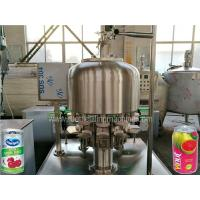 Buy cheap Stainless Steel Tin Can Filling Machine Commercial Fruit Juice Making Machine from wholesalers
