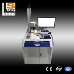 Buy cheap Hautes machines efficaces d'inscription de laser de fibre pour le bois en caoutchouc en plastique en métal product