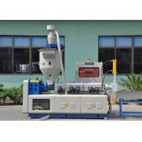 Buy cheap 3 In 1 Conical Single Screw Plastic Recycling Machine , Durable Pp Recycling Machine product