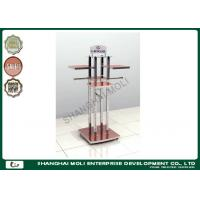 Buy cheap Durable metal tube department store , retail clothes rack multi clothes hanger display product