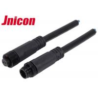 Buy cheap Jnicon M12 Waterproof Wire Connectors , Waterproof 2 Pin Male Cable Connector product