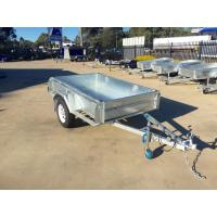 Buy cheap 6X4 Hot Dipped Galvanised Single Axle Trailer 750KG product