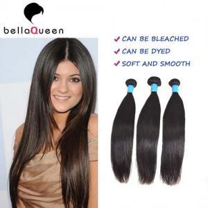 Buy cheap La belleza trabaja la extensión india recta sedosa del cabello humano de la Virgen libremente del vertimiento product