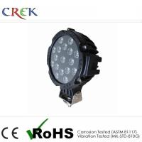 China Industrial LED Truck Work Lights 51W Round Light , LED truck driving lights on sale