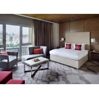 Buy cheap 5 Star Hotel Bedroom Furniture Sets / Luxury Marriott Bed Room Set product