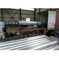Buy cheap Thick Wall Seamless Galvanized Pipe Length 3-12m outside diameter 21.3-508mm product