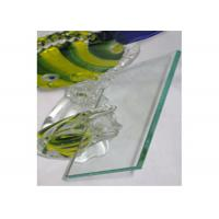 China 4mm Clear Float Glass Safety Laminated Float Glass For Officer Window / Door on sale