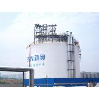 China One Containment Cryogenic Storage Tanks 20000m3 Vertical Cylindrical Flat Bottom on sale