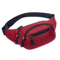 Buy cheap Promotional Stylish Fanny Pack 36x16x9cm With 3 Front Zipper Pockets product